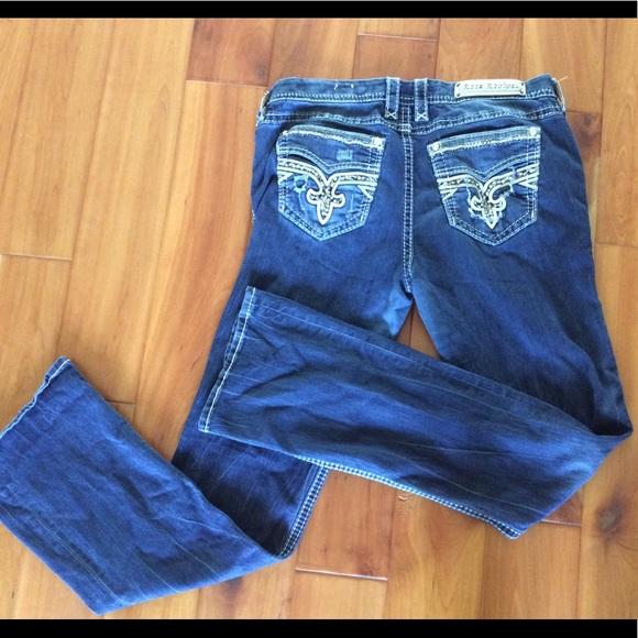 Rock Revival Denim - Rock Revival Boris jeans size 34 x 35